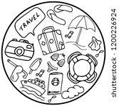 vector illustration. sticker...   Shutterstock .eps vector #1200226924