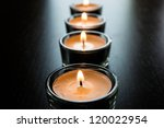 line of candles | Shutterstock . vector #120022954