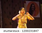legendary senior bharatnatyam... | Shutterstock . vector #1200231847