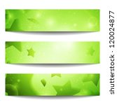 vector web banners. one  two ... | Shutterstock .eps vector #120024877