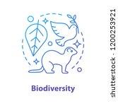 biodiversity concept icon.... | Shutterstock .eps vector #1200253921