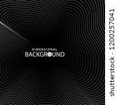 dimensional background.... | Shutterstock .eps vector #1200257041