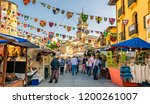 ponferrada  spain. circa... | Shutterstock . vector #1200261007