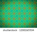 a hand drawing pattern made of... | Shutterstock . vector #1200265534