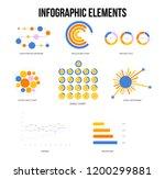 modern data visualisation... | Shutterstock .eps vector #1200299881