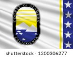 flag of alameda county is a... | Shutterstock . vector #1200306277