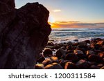 sunrise views from the rocks at ... | Shutterstock . vector #1200311584