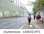 the peace lines or peace walls... | Shutterstock . vector #1200311971