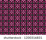 a hand drawing pattern made of... | Shutterstock . vector #1200316831