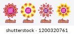 diwali sales banners. last...   Shutterstock .eps vector #1200320761