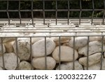 close up on a fragment of a... | Shutterstock . vector #1200322267