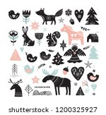 christmas illustrations  banner ... | Shutterstock .eps vector #1200325927