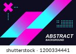 modern colored gradient poster... | Shutterstock .eps vector #1200334441