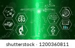 abstract background technology... | Shutterstock .eps vector #1200360811