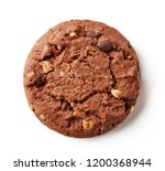 chocolate chip cookie with... | Shutterstock . vector #1200368944