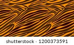 seamless zebra stripe pattern.... | Shutterstock .eps vector #1200373591