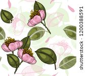botanical motifs. isolated... | Shutterstock .eps vector #1200388591