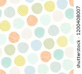 abstract seamless pattern of... | Shutterstock .eps vector #1200408007