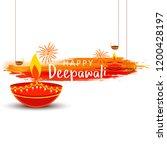 illustration greeting card... | Shutterstock .eps vector #1200428197