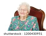 great grandmother 90 years old   Shutterstock . vector #1200430951