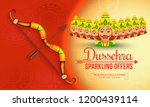 creative illustration sale... | Shutterstock .eps vector #1200439114