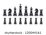 Chess Icons. Vector...