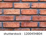 brick texture closeup for a... | Shutterstock . vector #1200454804