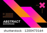 modern abstract covers... | Shutterstock .eps vector #1200473164