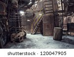abandoned factory  industrial...
