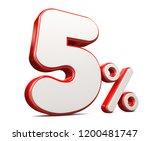 3d render illustration. red...   Shutterstock . vector #1200481747