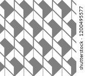 seamless geometric patter  ... | Shutterstock .eps vector #1200495577