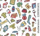 vector seamless pattern... | Shutterstock .eps vector #1200501631