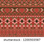 navajo american indian pattern... | Shutterstock .eps vector #1200503587