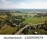 aerial of rural sommervile ...   Shutterstock . vector #1200509074