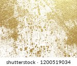 gold grunge texture to create... | Shutterstock . vector #1200519034