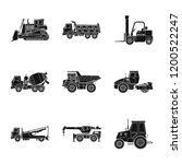 vector design of build and... | Shutterstock .eps vector #1200522247