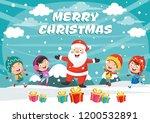 vector illustration of christmas | Shutterstock .eps vector #1200532891