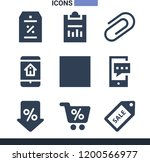 collection of 9 message filled...   Shutterstock .eps vector #1200566977