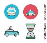 urgency icon set. vector set... | Shutterstock .eps vector #1200589384