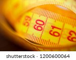 various tape measure as... | Shutterstock . vector #1200600064