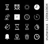 16 countdown icons with... | Shutterstock .eps vector #1200610834