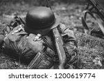 german military ammunition of... | Shutterstock . vector #1200619774