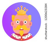 medieval king icon | Shutterstock .eps vector #1200623284