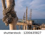 close up photo of fishing net ... | Shutterstock . vector #1200635827