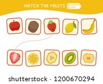 matching children educational... | Shutterstock .eps vector #1200670294