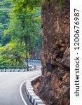 mountains roads daytime forest... | Shutterstock . vector #1200676987