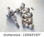 car disassembled air... | Shutterstock . vector #1200691507