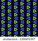 funky vector seamless pattern....   Shutterstock .eps vector #1200691597