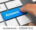 Answers Pushing Keyboard With...