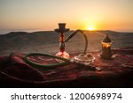 hookah hot coals on shisha bowl ...   Shutterstock . vector #1200698974